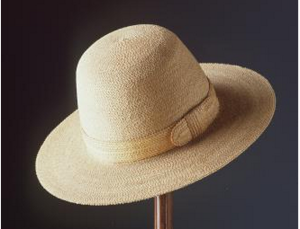 Early cabbage tree hat
