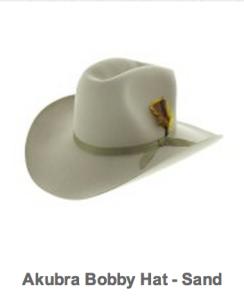 Akubra Bobby hat