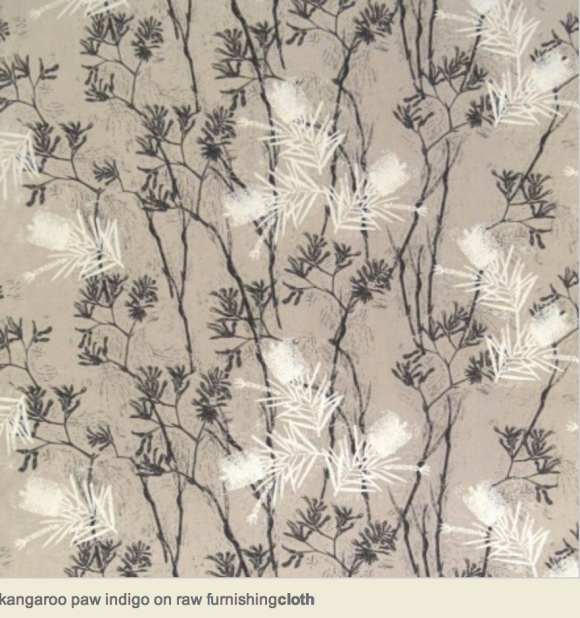 kangaroo paw design by Cloth textiles